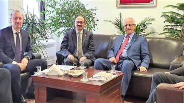 HOSAB Otoyol Bağlantısı için Temaslar Sürüyor