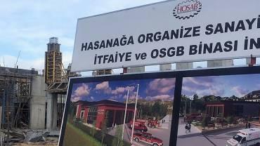 HOSAB İtfaiye ve OSGB İnşaatı Hızla İlerliyor