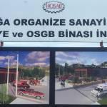 HOSAB İtfaiye ve OSGB İnşaatı Hızla İlerliyor 4
